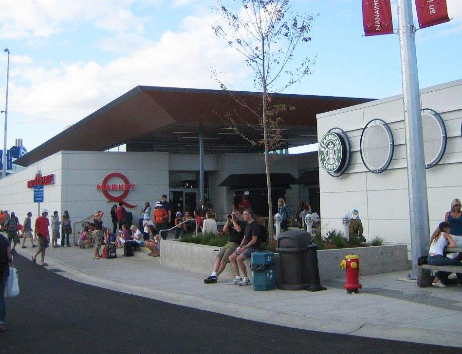 Nanaimo Quay Market Exterior
